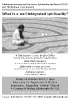 Talk/Forum on What is a Well-Integrated Spirituality?, 16 October 2015