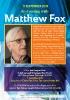 Matthew Fox, 11 September 2015